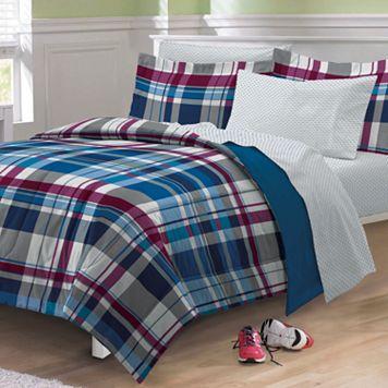 My Room Varsity Plaid Bed Set