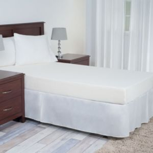 Portsmouth Home 7-in. Cooling Gel Memory Foam Mattress - XL Twin