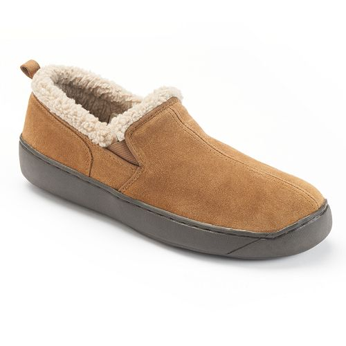 Hideaways by L.B. Evans Roderic Suede Men's Slippers