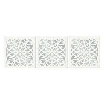 3-piece Vine Wall Mirror Set