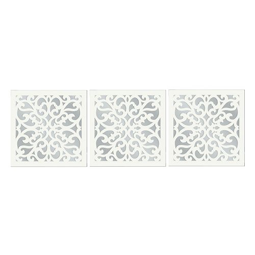 3 Piece Vine Wall Mirror Set