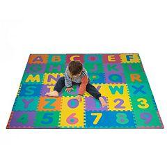 Foam Floor Alphabet & Number 36 pc Puzzle Mat