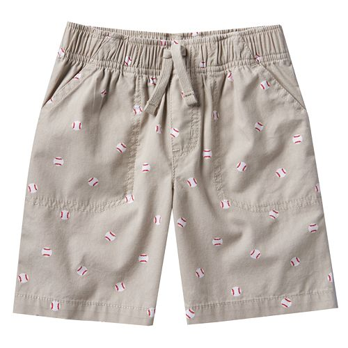 Toddler Boy Jumping Beans® Printed Canvas Shorts