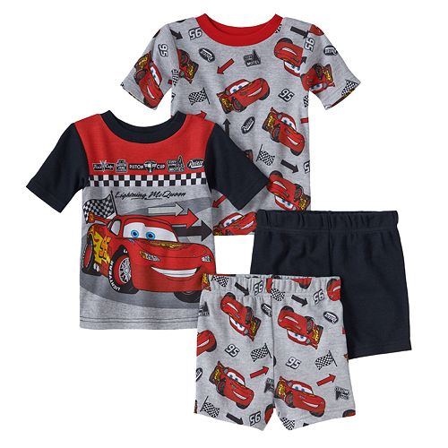 Disney Cars Boys Lightening McQueen Soft Fleece Pyjamas