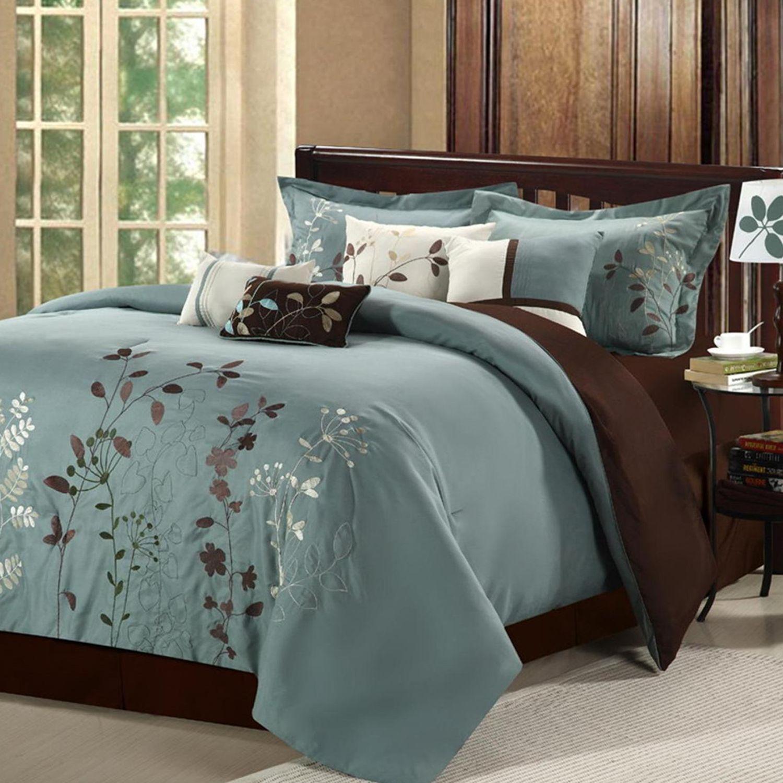 Bliss Garden 8 Pc. Comforter Set