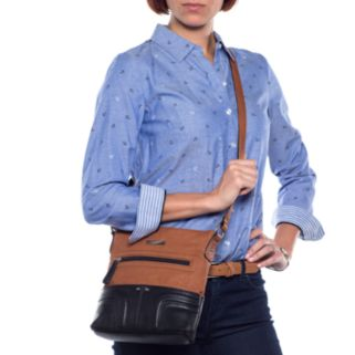 Stone and Co. Fiona Leather Crossbody Bag