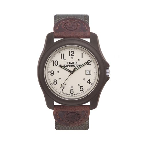 Timex Expedition Brown Resin Watch - T491019J - Men
