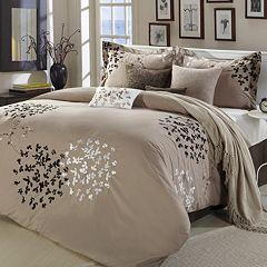 Cheila Taupe 8-pc. Comforter Set