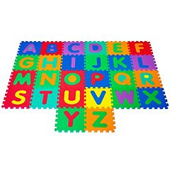 Foam Floor Alphabet Puzzles Mat Set