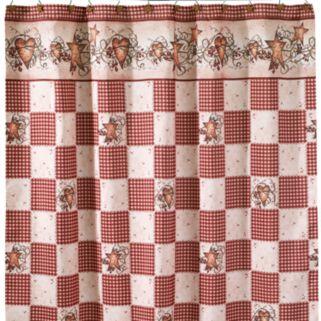 Avanti Hearts and Stars Shower Curtain
