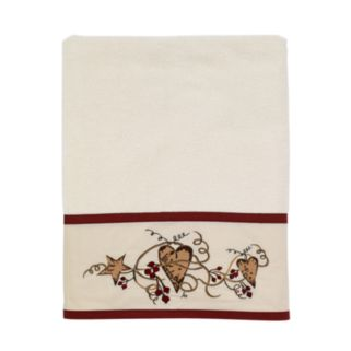 Avanti Hearts and Stars Bath Towel