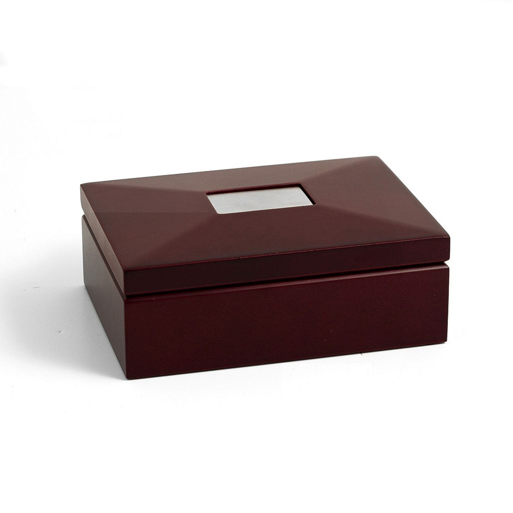 Bey-Berk Hinged Storage Box - Men