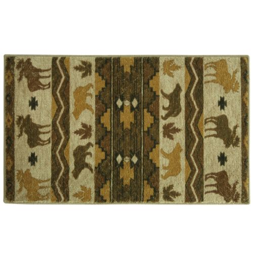 Elegant Dimension Light Woods Rug - 28'' x 46''