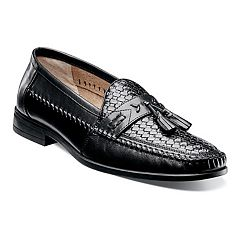 Nunn Bush Strafford Woven Men's Slip-on Tassel Loafer