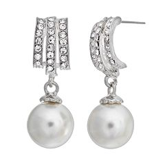 Crystal Allure Drop Earrings