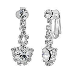 Crystal Allure Drop Earrings