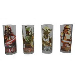 Star Wars 4-Pack Highball Glass Set
