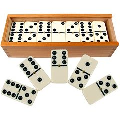 Premium Double-Six Dominoes Set