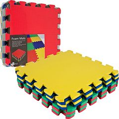 Foam Exercise 8 pc Mat Set