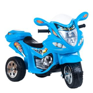 Lil' Rider Blue Baron Motorized Motorcycle Trike Ride-On
