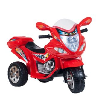 Lil' Rider Red Baron Motorized Motorcycle Trike Ride-On