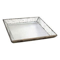 Click here to buy Mercury Glass Serving Tray.