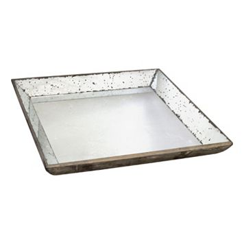 Mercury Glass Serving Tray