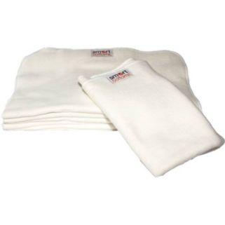 Smart Bottoms Smartfold Organic Prefold Cloth Diaper - Medium