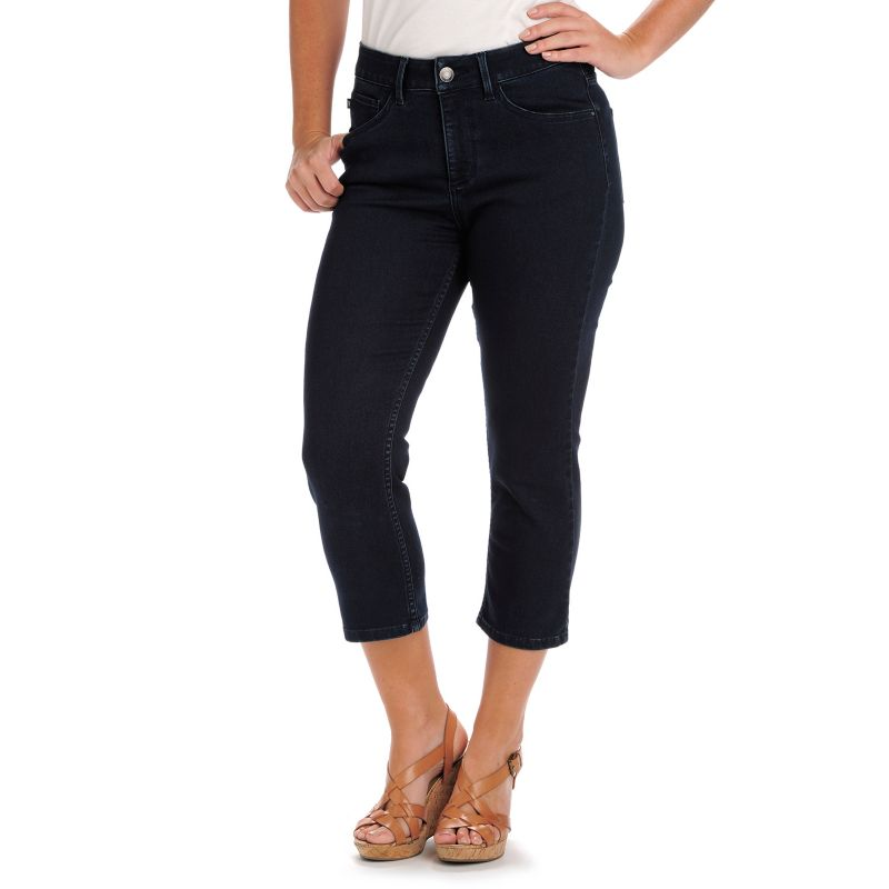 Excellent Hadari Women39s Contemporary Plus Casual Jean Capri Pants