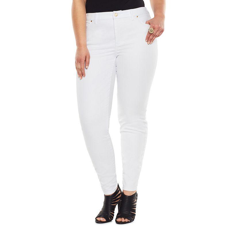 Jennifer Lopez Skinny Jeans - Women's Plus Size
