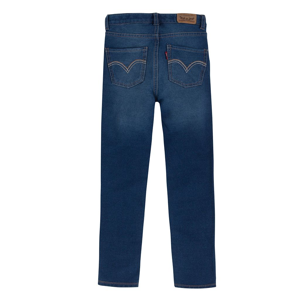 Girls 4-6x Levi's Knit French Terry Skinny Jeans