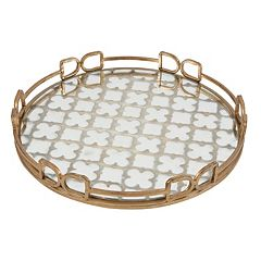 Decorative Metallic Tray
