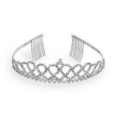 Crystal Allure Tiara Headband