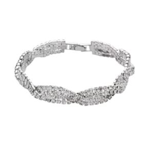 Crystal Allure Twist Bracelet
