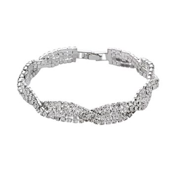 Crystal Allure Twist Bracelet