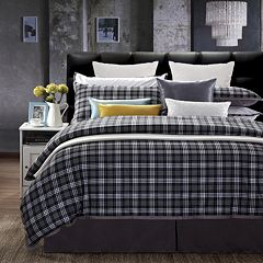Ever Rouge Checkers 7 pc Duvet Cover Set