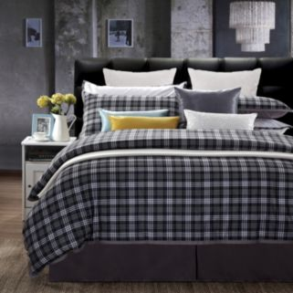 Ever Rouge Checkers 7-pc. Duvet Cover Set
