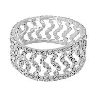 Crystal Allure Twist Stretch Bracelet