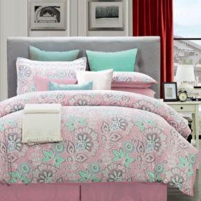 Flower Power Comforter Set
