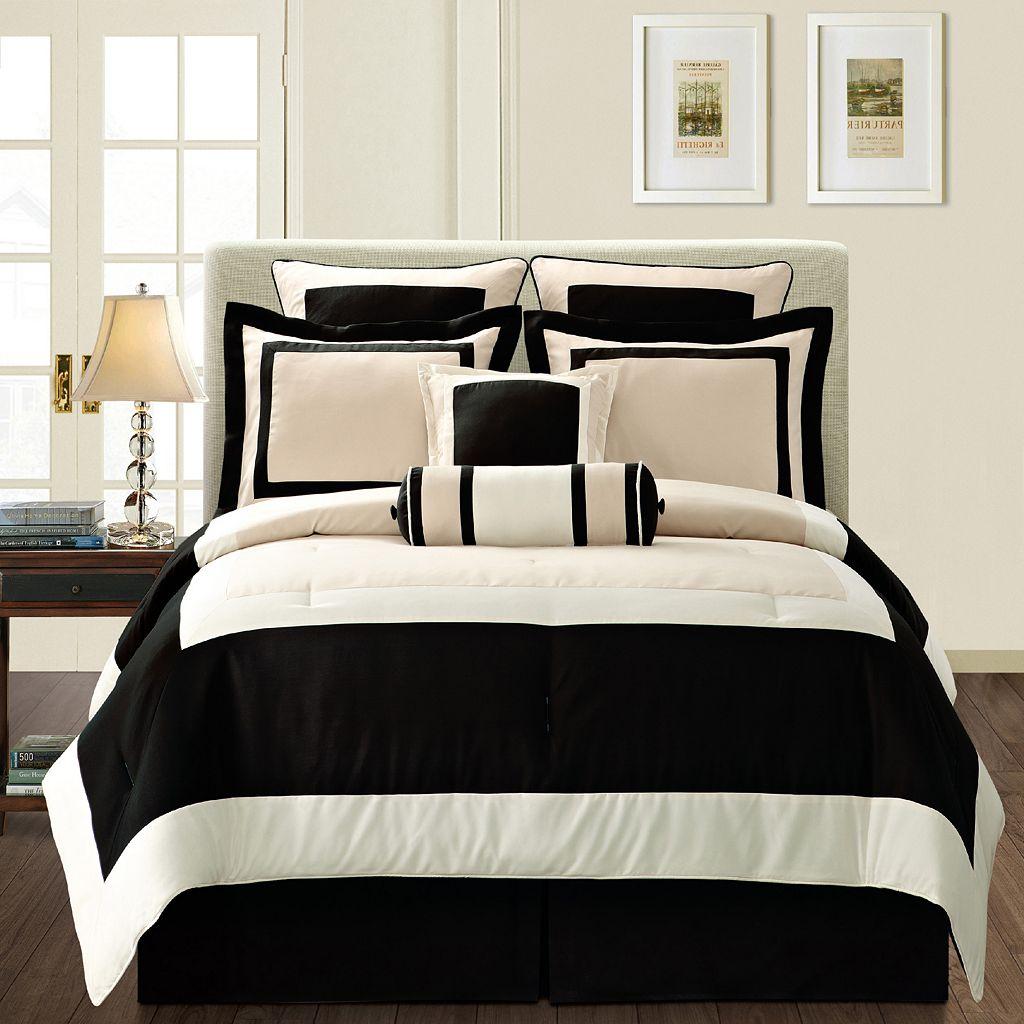 Gramercy Black 12-pc. Bed Set