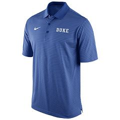 Men's Nike Duke Blue Devils Striped Stadium Dri-FIT Performance Polo