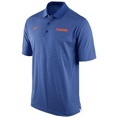 Men's Nike Florida Gators Striped Stadium Dri-FIT Performance Polo