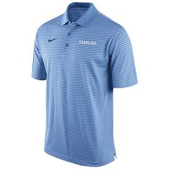 Men's Nike North Carolina Tar Heels Striped Stadium Dri-FIT Performance Polo