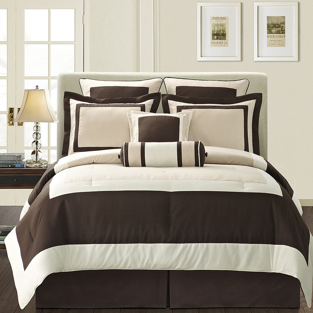 Gramercy Brown 12-pc. Bed Set