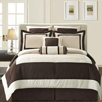 Gramercy Brown 12-pc. Bed Set