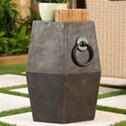 Bombay® Outdoors Delhi Drum Side Table - Indoor / Outdoor