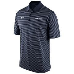 Men's Nike Penn State Nittany Lions Striped Stadium Dri-FIT Performance Polo