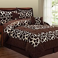 Giraffe 6 pc Microsuede Comforter Set