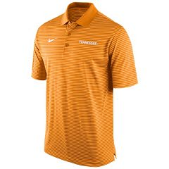 Men's Nike Tennessee Volunteers Striped Stadium Dri-FIT Performance Polo