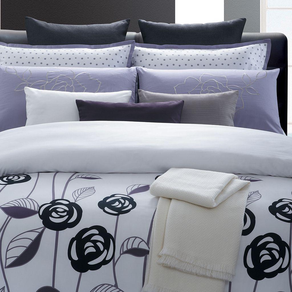 Lavender Rose by EverRouge 7-pc. Floral Duvet Cover Set